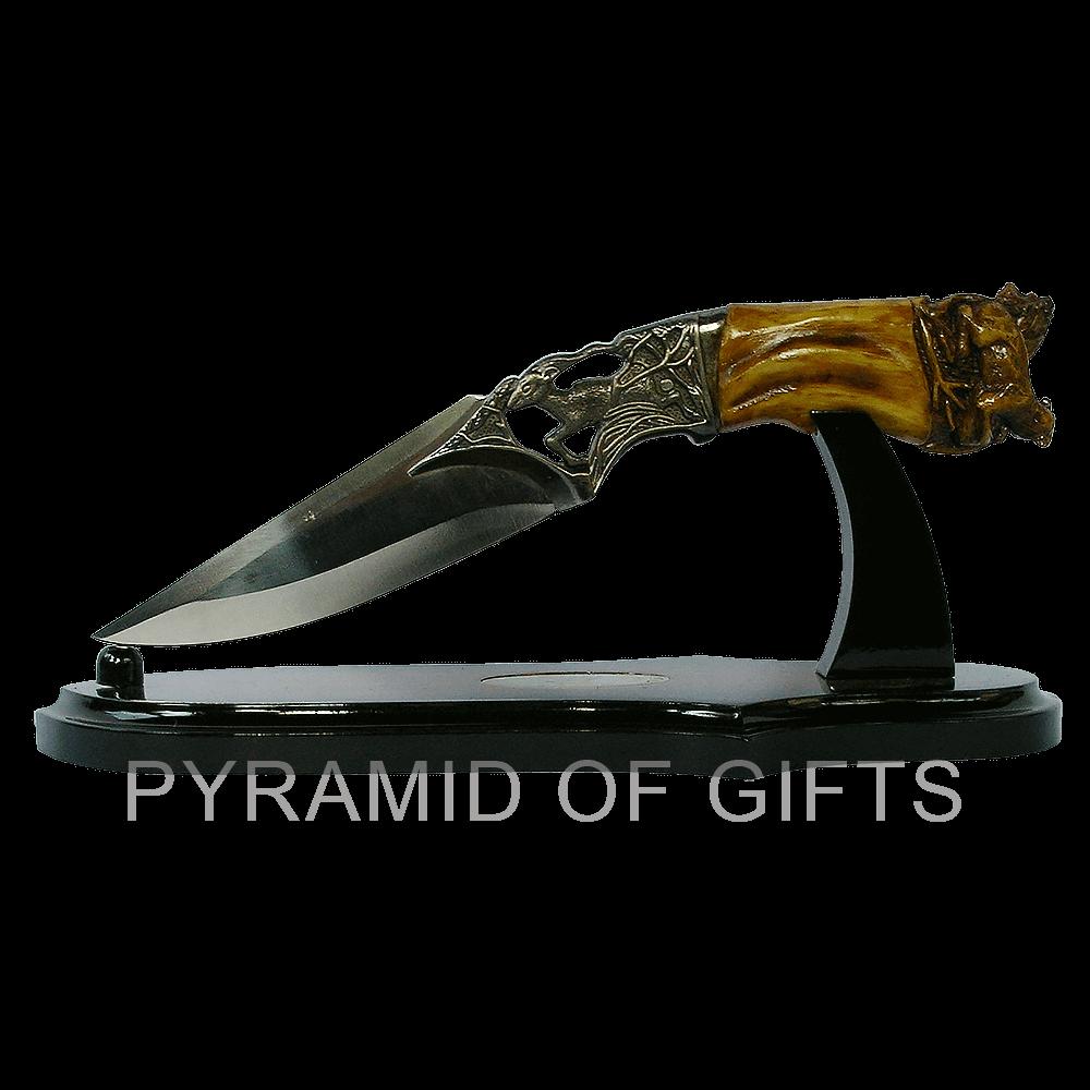 Фото - декоративный охотничий нож - Pyramid Of Gifts