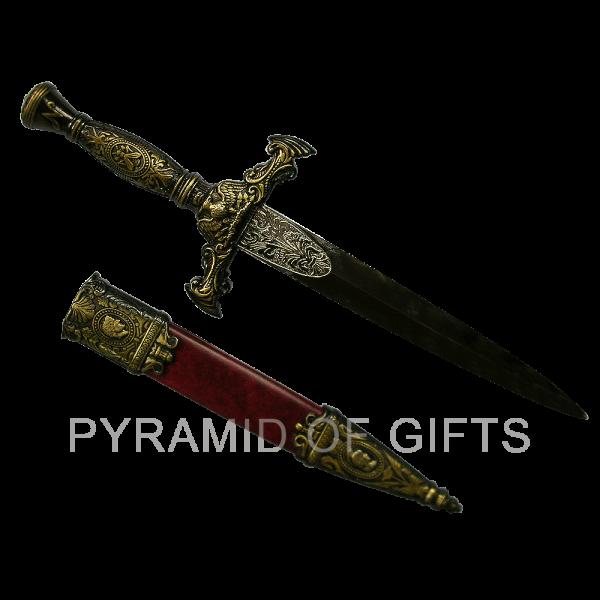Фото - подарочный кинжал – Юлий Цезарь - Pyramid Of Gifts