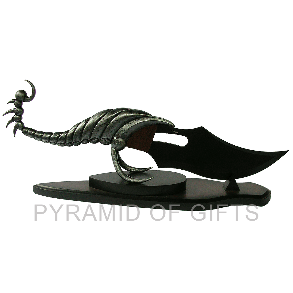 Фото - подарочный кинжал – скорпион фентази - Pyramid Of Gifts