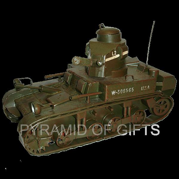 Фото - сувенирная модель - военный Американский танк - Pyramid Of Gifts