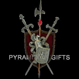 Фото - средневековый рыцарский герб - Pyramid Of Gifts