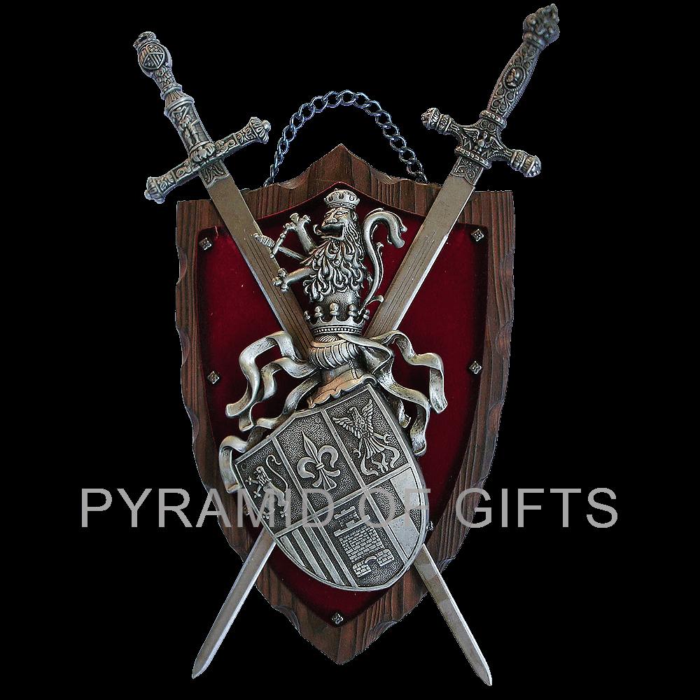Фото - средневековый, геральдический герб - Pyramid Of Gifts