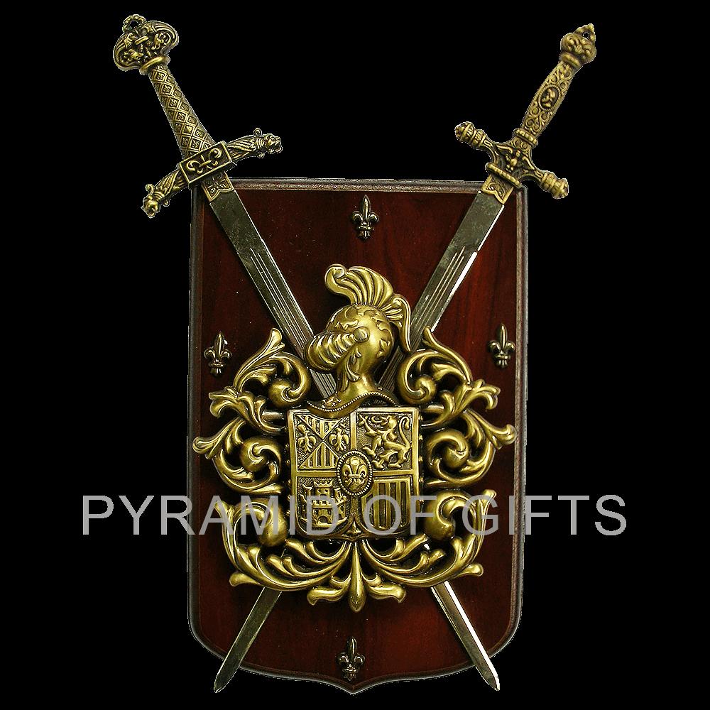 Фото - средневековый, рыцарский герб - Pyramid Of Gifts