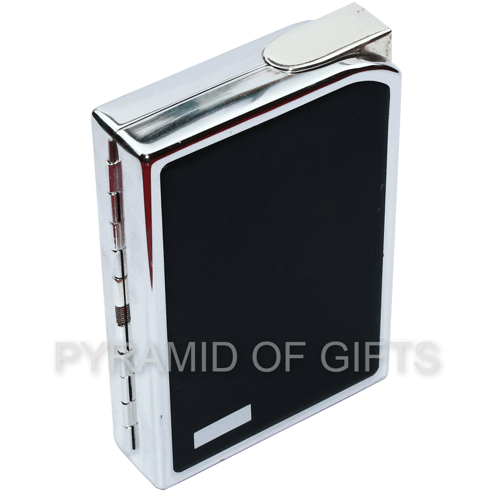 Фото - Зажигалка с портсигаром SAROME - CC7-05 газовая пьезо - Pyramid Of Gifts