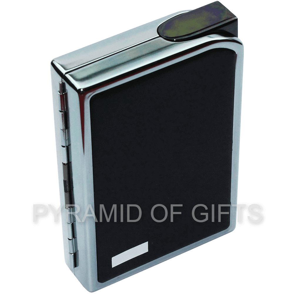 Фото - Газовая зажигалка портсигар SAROME - CC7-06 пьезо - Pyramid Of Gifts
